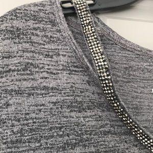 Juicy Couture Grey Sparkle Top